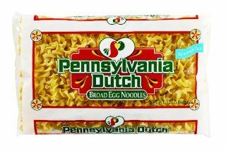 Pennsylvania Dutch Broad Egg Noodles, 12 Ounce Bags (Pack of 12) : Grocery & Gourmet Food