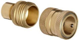 Dixon DGH7 Brass Quick Connect Fitting, Garden Hose Complete Set, 200 psi Pressure Industrial & Scientific