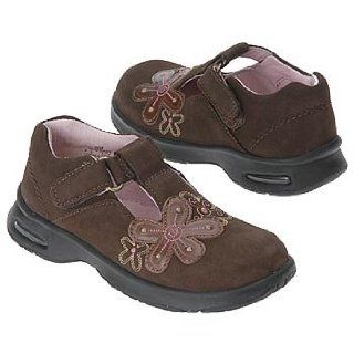 Stride Rite Kids' Adriana Stage 2 Tod (Dk Brown Nubuck 4.0 M): Shoes