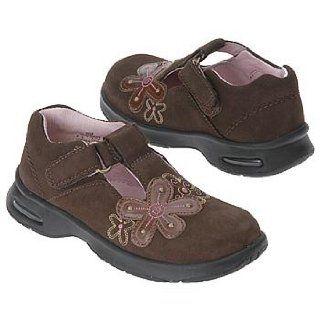 Stride Rite Kids' Adriana Stage 2 Tod (Dk Brown Nubuck 4.0 M) Shoes