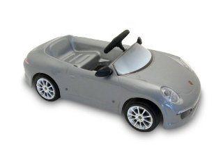 Toys Toys 6 volt Porsche 911 Ride On, Silver Toys & Games