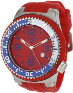 Swiss Legend Men's 21818S B DP Neptune Red Dial Red Silicone Watch at  Men's Watch store.