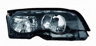 02 06 BMW 330i Headlight (Passenger Side) (2002 02 2003 03 2004 04 2005 05 2006 06) 63 12 6 919 644 Headlamp Right Automotive