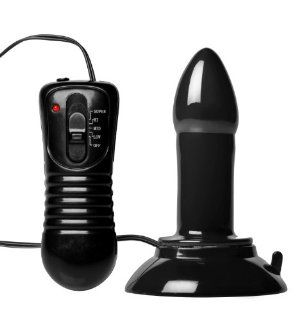 Trinity Vibes Vibrating Rectal Dilator with Suction Cup, Small Health & Personal Care