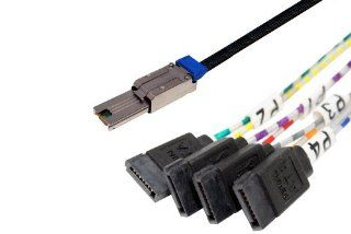 Data Storage Cables, p/n C5647 1M: Mini SAS (Host)   SATA x 4 (Target), 1M [Electronics]: Computers & Accessories