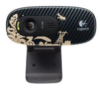 Logitech C270 720p Widescreen Video Call and Recording HD Webcam   960 000817 (Victorian Wallpaper) Electronics