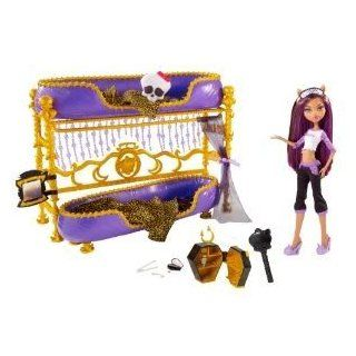 Toy / Game Monster High Dead Tired Clawdeen Wolf Doll & Bed Playset   Get Together For A Sleepover & Scary Fun: Toys & Games