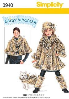 Simplicity Sewing Pattern 3940 Child Jackets and Coats, A (3 8 and XS XL)
