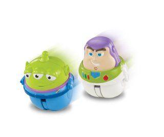 Disney Pixar Toy Story Zing'Ems   Hero Buzz Lightyear & Alien 2 pack Toys & Games