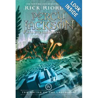 The Battle of the Labyrinth (Percy Jackson and the Olympians, Book 4): Rick Riordan: 9781423101499:  Children's Books