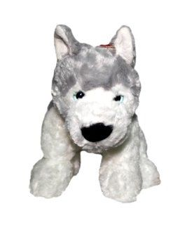 "Huskie Puppy 12"" Stuffed Husky Dog Doll Plush Toys Toys & Games"