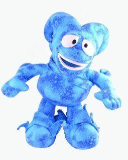 Fifa World Cup Korea Japan Mascot 2002 Aqua Blue Plush Stuffed Animal Toys & Games