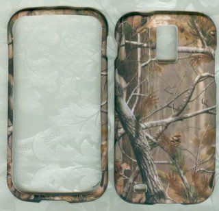 SAMSUNG GALAXY S2 T989 SGH T989 HERCULES (T MOBILE US CELLULAR) HARD RUBBERIZED CASE COVER FACEPLATE PROTECTOR SNAP ON NEW CAMO MOSSY OAK HUNTER REAL TREE: Cell Phones & Accessories