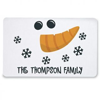 "Personal Creations 17"" x 27"" ""Happy Snowman"" Doormat"