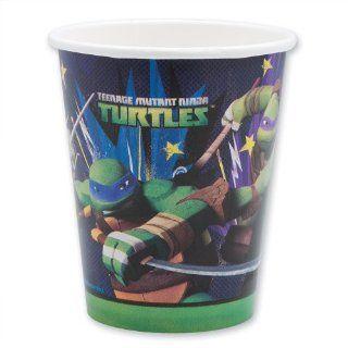 Teenage Mutant Ninja Turtles Cups   Party Supplies   8 per pack Toys & Games