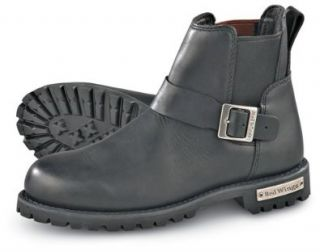 Men's Red Wing� 977 Motorcycle Boots Black, BLACK, 6 Shoes