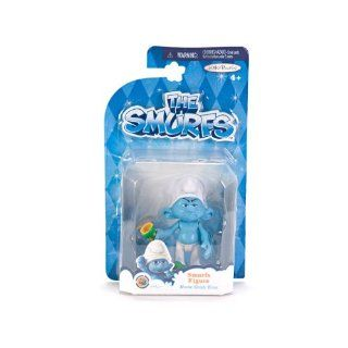The Smurfs Grab Ems Wave 1 Grouchy Figure: Toys & Games