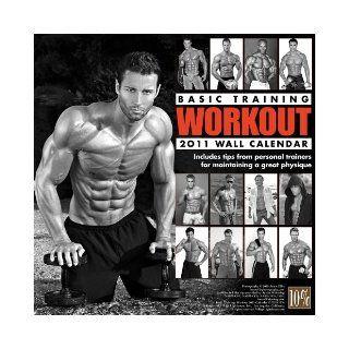 Basic Training Workout 2011 Wall Calendar Jason Ellis 9781935478072 Books