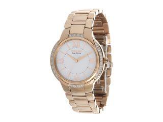 Citizen Watches Em0093 59a Ciena Eco Drive Rose Gold Tone Watch