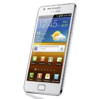 Samsung Galaxy S II SA I9100 Unlocked Phone with 8 MP Camera and GPS support   International Version   Ceramic White: Cell Phones & Accessories
