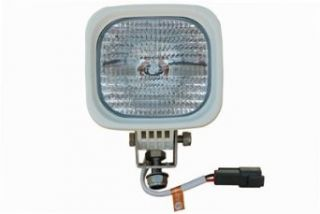 LarsonElectronics HID Boat Light   35 Watt High Intensity Discharge   Flood Pattern   125' X 125'   Light Bulbs