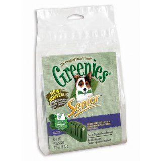 Greenies Senior Teenie Dental Dog Treats, 12 oz bag, 43 chews : Edible Pet Treats : Pet Supplies