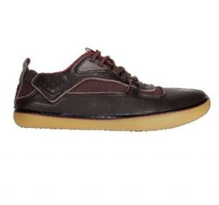 Terra Plana Men's Aqua DK Brown Leather Shoes Size EU 42, 44, 45(US9, 11, 12) (EU45 US12) Running Shoes Shoes
