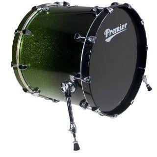 Premier Drums Series Elite 2892SPLAPF 1 Piece Maple 22x20 Inches Bass Drum, Drum Set (Apple Sparkle Fade Lacquer): Musical Instruments