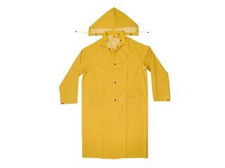 CLC Rain Wear R105L .35 MM PVC Trench Coat   Large: Home Improvement