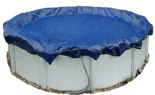 Dirt Defender 15 Year 21 Feet Round Above Ground Winter Pool Cover : Swimming Pool Covers : Patio, Lawn & Garden