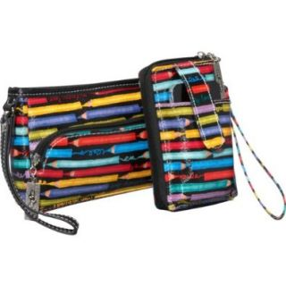Sydney Love Colored Pencils Across the Body Cell Phone Wallet and Wristlet Shoes