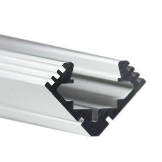 Klus B4023ANODA   39.4 in. Anodized Aluminum Mounting Channel   45   ALU Profile   For LED Tape Light