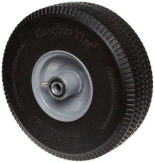 "RWM Casters SF1 10"" Diameter Maintenance Free Solid Foam Hand Truck Wheel, 3"" Width, 5/8"" Axle Plate Casters Industrial & Scientific"