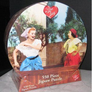 I Love Lucy Grape Stomping Jigsaw Puzzle 550pc Toys & Games