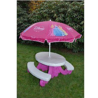 Fairy tale Picnic Table with Umbrella  Patio, Lawn & Garden