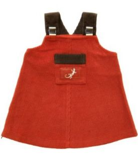 Zypalong Kids Baby Girls Jumper Dress 6 months (Red, Fall/Winter, Made in USA): Infant And Toddler Dresses: Clothing