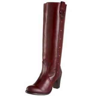 FRYE Women's Fiona Stitch Boot,Bordeaux,5.5 M US: Shoes