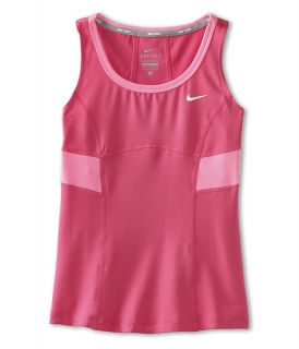 Nike Kids Power Tank Top (Little Kids/Big Kids) Dynamic Pink/Dynamic Pink/Polarized Pink/White