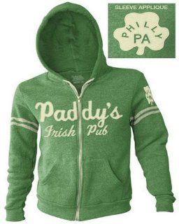 It's Always Sunny In Philadelphia Paddy's Irish Pub Green Adult Hoodie (Medium)