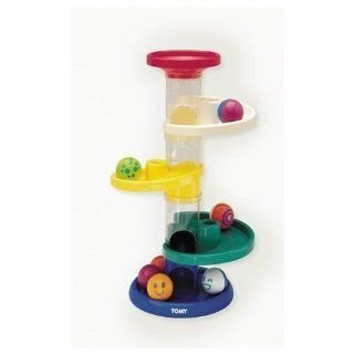 Tomy Roll Around Tower Ball Party: Toys & Games