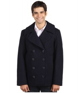 Alpha Industries USN Pea Coat Mens Coat (Navy)