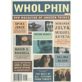 Wholphin DVD Magazine of Unseen Things (No.1) Al Gore Documentary; Soldiers Pay; Death of a Hen; Are You the Favorite Person of Anybody?; The Writer; The Big Empty; The House in the Middle; The Delicious; Malek Khorshid; Tatli Hayat; The Great Escape (No.