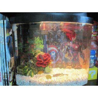 Aqueon 17772 Mini Bow 2 1/2 Desktop Aquarium Kit, Blue  Mini Bow Fish Tank