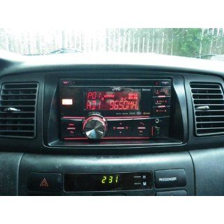 JVC KW HDR81BT Double DIN Car CD receiver with Bluetooth, HD Radio, iPod Capable  Vehicle Receivers