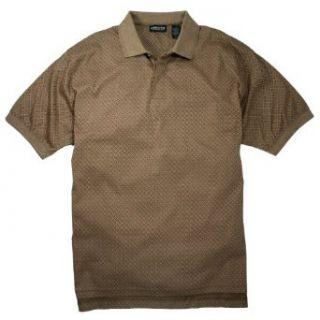 Brand charlie brown polo shirt cascade cholo chicano rap xl for Light brown polo shirt