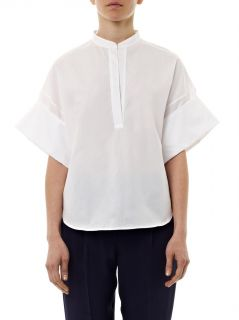 Collarless cotton shirt  3.1 Phillip Lim