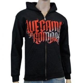 WE CAME AS ROMANS   Our True Hope   Black Zip Up Hoodie Clothing