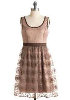 Ryu Chestnut Roasting Dress  Mod Retro Vintage Dresses