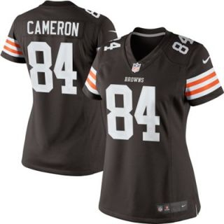 Nike Jordan Cameron Cleveland Browns Ladies Limited Jersey   Brown