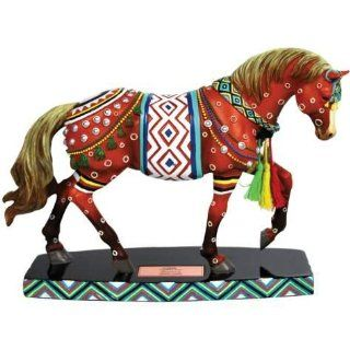 6 inch Seminole Figurine Red Horse Of A Different Color Statue